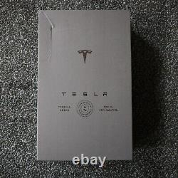 Preorder Tesla Tequila Limited Edition Bottle, Lid, Box & Stand Empty