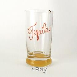 RARE Alexander Girard La Fonda Del Sol Tequila Shot Glass Miller Eames era