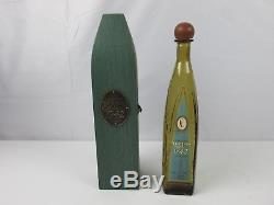 RARE DON JULIO ANEJO TEQUILA 1942 GREEN COFFIN WOODEN BOX Empty Bottle NICE VHTF