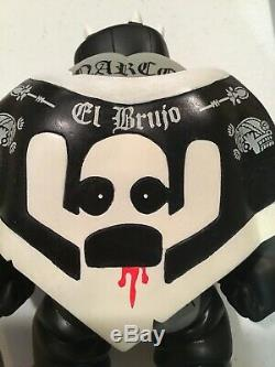 RARE Kozik 06 Muttpop El Brujo Tequila Edicion Narco Satanico Action Figure