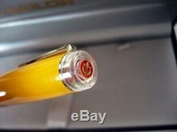 RARE! Medium nib SAILOR Professional Gear Tequila Sunrise Fountain Pen Orange