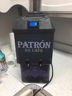 RARE PATRON Cafe TEQUILA SHOT CHILLER DISPENSER MACHINE FIREBALL JAGER Man Cave