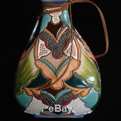 Rare & Beautiful Hand Painted Dulce Amargura Tequila Limited Ed. Bottle 363/700