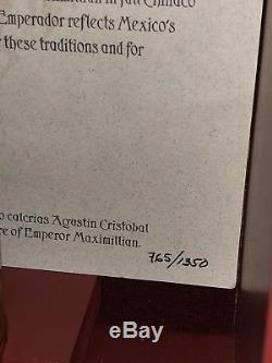 Rare Chinaco Emperador 30th Anniversary Limited Edition 7 Yr Anejo Tequila #765