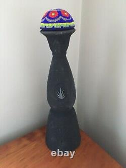 Rare! Clase Azul Black Matte Mezcal Tequila Empty Bottle 750ML