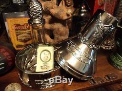 Rare Don Julio 1942 Real Anejo Tequila Bottle Embossed Metal Casket Pot Casr
