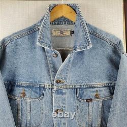 Rare LEE x JOSE CUERVO Size XL Denim Trucker Jacket Mens Button Coat Tequila