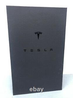 Rare NEW Tesla Tequila Decanter Tesla Official Cooperation Elon Musk Space X