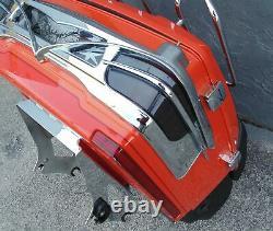 Rare Oem Harley Davidson 2012 Classic Touring Rear Trunk Tequila Sunrise Orange