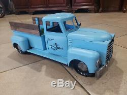 Rare Tequila Don Julio Steel collectible miniature truck BAR display man cave