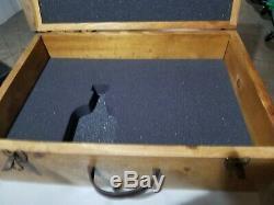 Rare Vintage Jose Cuervo Wooden Tequila Box