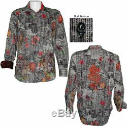 Robert Graham Limited Edition Tequila Embroidered Super Rare Shirt L NEW $498