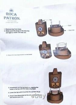 Roca Patron Tequila Ice Mold And Press See Details
