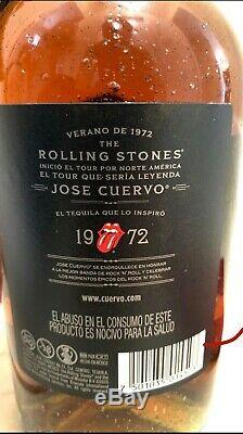Rolling stones limited edition tequila reserve de la familia