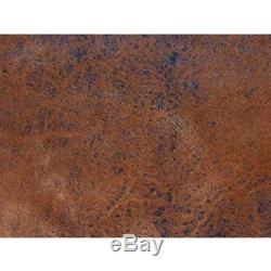Rowdy Tequila Leather Look Futon Cover Full Size, Proudly Made in USA