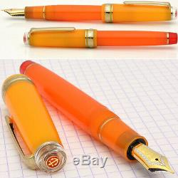 SAILOR Fountain Pen Cocktail Vol. 8 Tequila sunrise Limited 21K Nib MF new