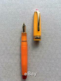 SAILOR Fountain Pen Cocktail Vol. 8 Tequila sunrise Limited 21K Nib M RareMINT