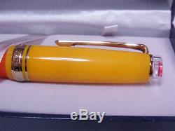 SAILOR Large Progear Cocktail Tequila Sunrise 21K Gold Fountain Pen 1000 piec