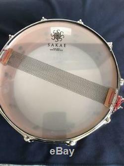 SAKAE SD1450 Bubinga Snare TEQUILA Snare Drums