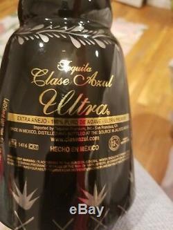 SUPER RARE Clase Azul Ultra Tequila Bottle