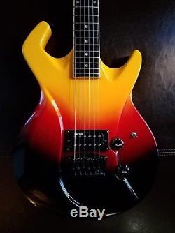 SWITCH Brand Guitar Wild 1 Tequila Sunrise Finish Excellent, Clean Condition