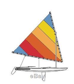 Sail for Sunfish Tequila Sunrise No Window