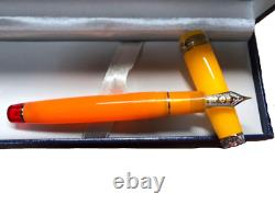 Sailor Fountain Pen Tequila Sunrise 21K MF Cocktail Series from Japan