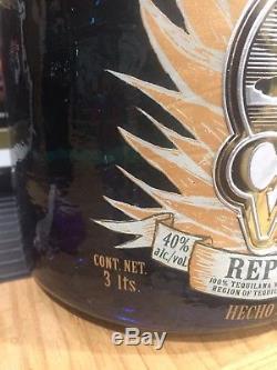 Sammy Hagar Big 3 Liter 3rd Generation Cabo Wabo Tequila Bottle Extremely Rare