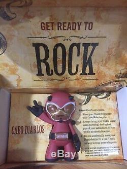 Sammy Hagar Cabo Wabo Diablo Figure Tequila Very Rare