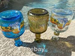 Sammy Hagar Cabo Wabo Empty Bottles Set Anejo Reposado Blanco Tequila Rare