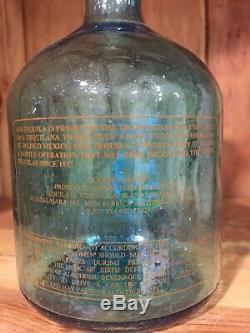 Sammy Hagar Cabo Wabo Tequila Original 1st Hand Blown Bottle Pre-Import RARE
