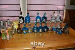 Sammy Hagar Cabo Wabo tequila empty bottles inc. 1st generation Beach Bar Rum