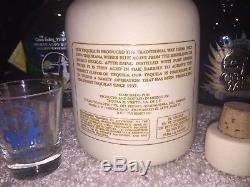 Sammy Hagar Original 1st Cabo Wabo Ceramic White Tequila Bottle Extremely Rare