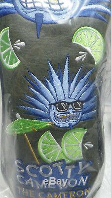 Scotty Cameron 2018 TCC Tiki Agave Man Tequila Lime headcovers 2 piece set NIB