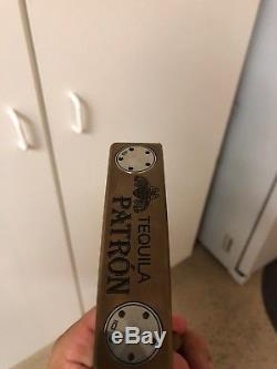 Scotty cameron putter 33 Collaboration With Patrón Tequila