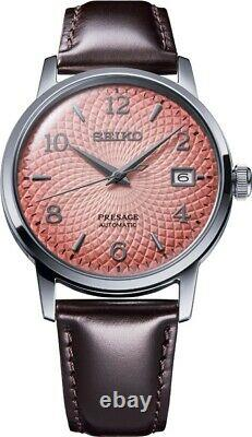 Seiko Presage Cocktail SRPE47J1 Tequila Sunset Pink Limited Edition