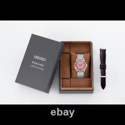 Seiko Presage Cocktail Time Tequila Pink Dial Automatic 38.5mm LE Watch SRPE47J1