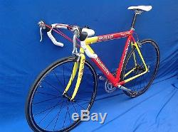 Simonetti tequila sunrise 54cm in great condition shimano 105 /RX100 SPECIALIZED