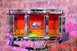 Snare Drum Ludwig Vistalite Tequila Sunrise