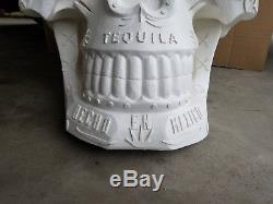 Super Large Skull El Jimador Alcohol Advertising Tequila. About 3 Foot Tall