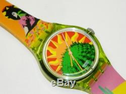 Swatch TEQUILA vintage swiss automatic conversion plastic watch