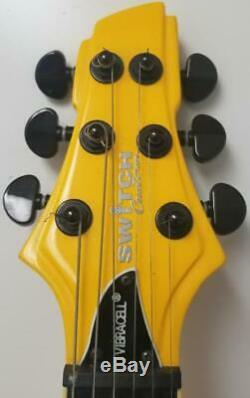 Switch Vibracell Wild 1 Tequila Sunrise Fireburst 6-String Electric Guitar RARE