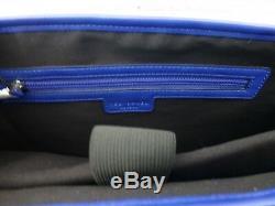 TED BAKER Satchel Bag Mens TEQUILA Blue Shoulder Despatch Docu Bags BNWT R£129