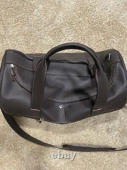 TESLA Authentic Leather Duffle Limited Weekender Bag, NEVER SOLD Elon Tequila