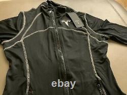 TESLA Jacket Thumb Hole Womens M (fits like S) Authentic Rare, Elon Tequila