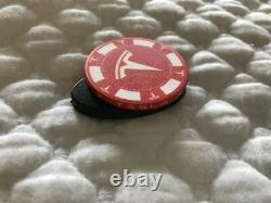 TESLA MOTOR POKER CHIP Case Included RARE, Not For Retail (Tequila / Elon)