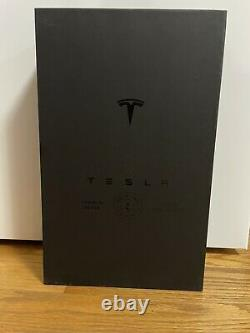 TESLA Tequila (NEW SEALED) Box & Stand, Empty Prior To Meetup