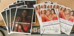 TOWER RECORDS Calvin Klein TEQUILA modern advertisement 24K RACK CARDS c 1990