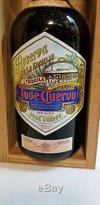 Tequila Jose cuervo reserva de la familia 1995