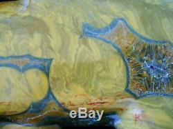 Tequila Moonrise Kabamby Ocean Jasper Polished Specimen 1445